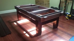 Correctly performing pool table installations, Boston Massachusetts