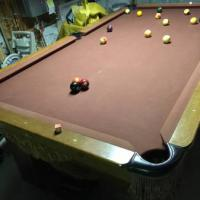 Awesome Pool Table, Light and Rack