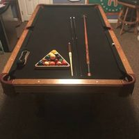 Beautiful 30th Anniversary Olhausen Pool Table