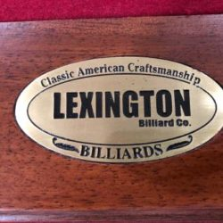 Lexington Pool Table