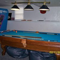 8 foot Slate Pool Table For Sale
