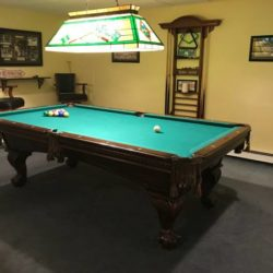 American Heritage 8' Pool Table