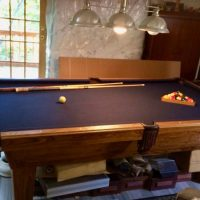 8' Pool Table by Olhausen For Sale